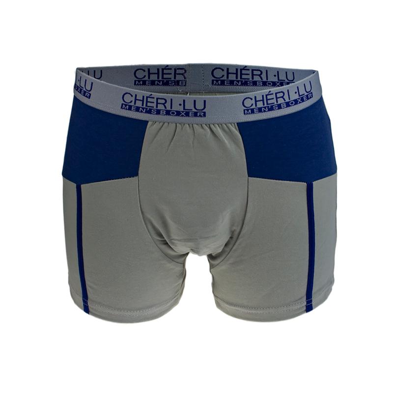 Eleganckie bokserki męskie z wysokiej jakości materiałów. Bielizna znakomicie dopasowują się do ciała zapewniając najwyższy komfort noszenia. Góra wykończona wygodną i szeroką gumką.