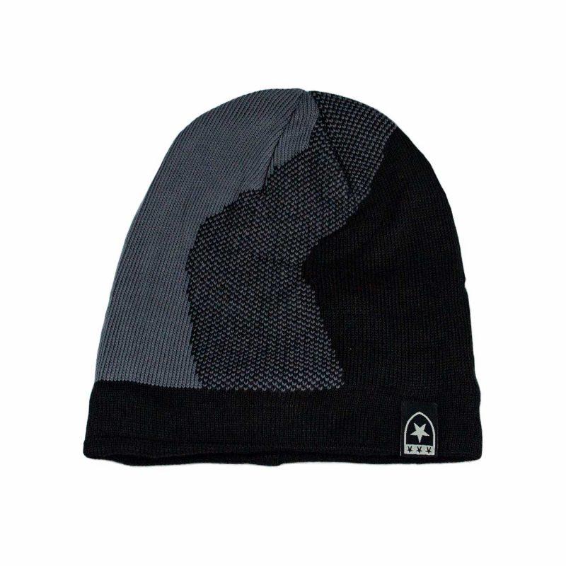 ciemny szary czapka meska
