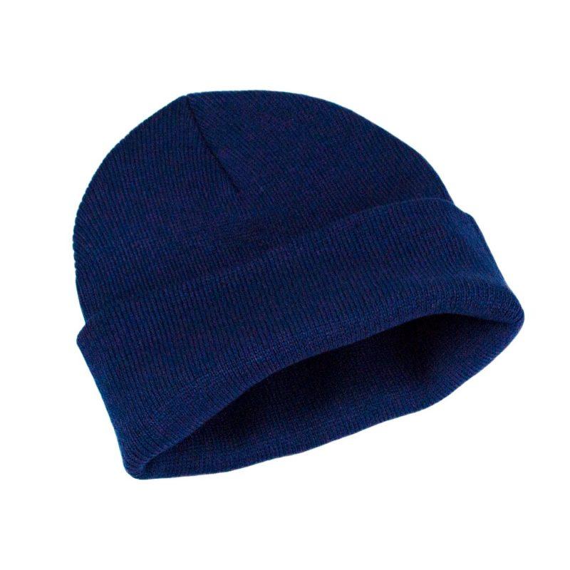 granatowa czapka meska