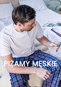 piżamy męskie