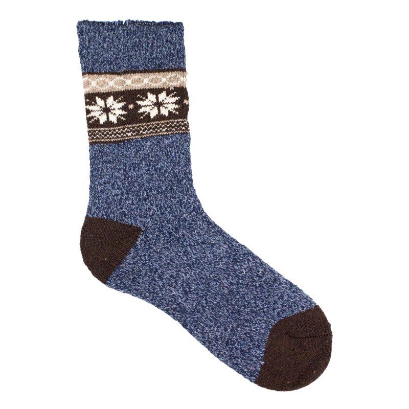 Skarpeta-zimowa-swiateczna-Alpaka-PA-342-niebieski-0